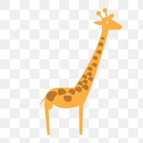 Giraffe - Giraffe Cartoon Clip Art PNG