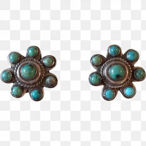 Jewellery - Turquoise Earring Body Jewellery Navajo PNG