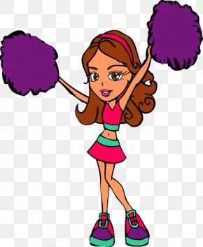 Drawings Of Cheerleaders - Cheer Gear Cheerleader Camp Cheerleading Drawing Clip Art PNG