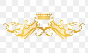 Crown Gold Pattern Vector - Euclidean Vector Computer File PNG