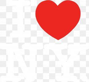 I Love You - Catskill Mountains Adirondack Mountains I Love New York Heart Logo PNG