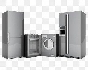 Kitchen Appliances - Home Appliance Washing Machine Clothes Dryer Refrigerator Major Appliance PNG