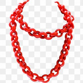 Necklace - Necklace Chain Plastic Ruby Lane Jewellery PNG