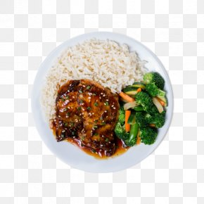Barbecue - Barbecue Chicken Cooked Rice Orange Chicken Piccata Vegetarian Cuisine PNG