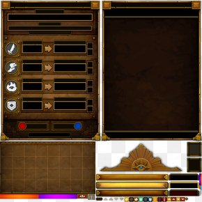 Game UI Interface Elements Of The Game GAME - Torchlight II User Interface Game PNG