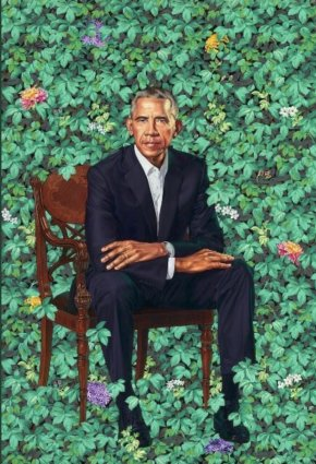 Barack Obama - Barack Obama The National Portrait Gallery Smithsonian Institution Portraits Of Presidents Of The United States PNG