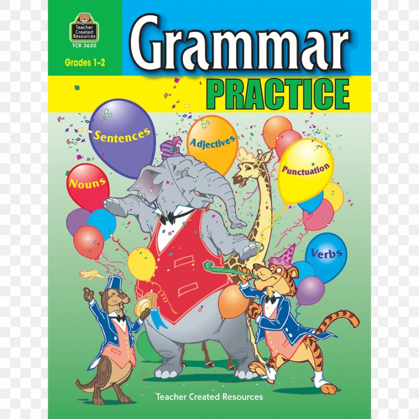 Big Grammar Book: 101 Worksheets For English Lessons Grammar Practice For  Grades 1-2 Writers Choice