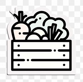 Coloring Book Line Art - Vegetables Icon Food Icon Agriculture Icon PNG
