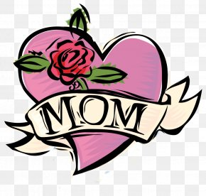 Mother's Day - Mother's Day Gift Drawing Clip Art PNG