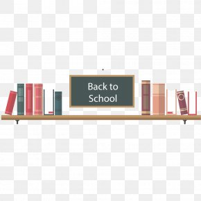 Vector Back To School - Library Learning PNG