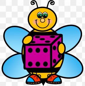 Buzzing Bee Clip Art Kindergarten - Clip Art Bee School Image PNG