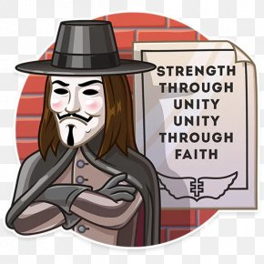Guy Fawkes Day - Guy Fawkes Sticker Telegram Clip Art PNG