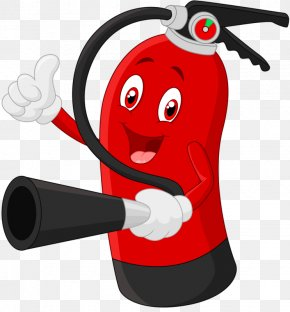 Fire Extinguisher - Fire Extinguisher Cartoon Stock Illustration PNG