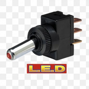 Rocker Switch - Electrical Switches Light-emitting Diode Electrical Wires & Cable Electrical Connector PNG