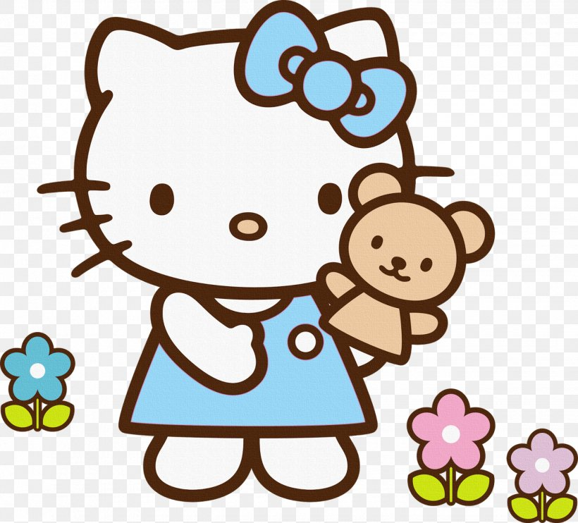 Hello Kitty Clip Art Images Cartoon Clip Art In Hellokitty - Hello Kitty  Coloring Pages - Free Transparent PNG Clipart Images Download