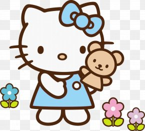 Hello School Cliparts - Hello Kitty Clip Art PNG