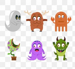 Halloween Cartoon Monster - Monster Icon PNG