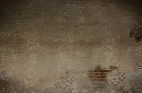 Dark Gray Mottled Red Brick Wall Background, Old Houses - Floor Wall Brown Computer Wallpaper PNG