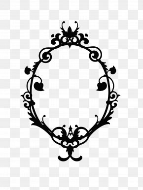 Skull Frame Cliparts - Picture Frames Oval Clip Art PNG