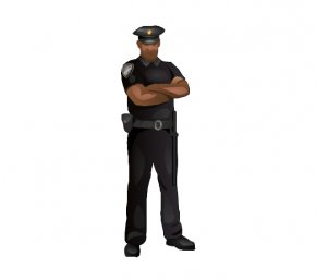 Fixed Cliparts - Security Guard Police Officer Clip Art PNG