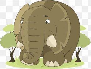 Elephant Vector - Elephant Pixabay Clip Art PNG