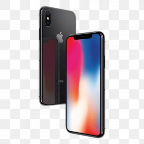 Iphone X - IPhone 8 Plus Apple A11 Telephone PNG
