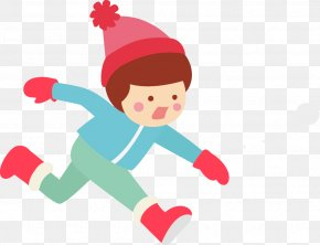 Recreation Playing In The Snow - Snowball Fight Winter Kids PNG