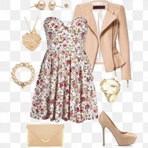 Bra Floral Dress - Leather Jacket Coat Fashion PNG