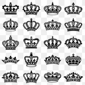 Vector Hand-painted Crown - Crown Tiara Drawing Stock Photography PNG