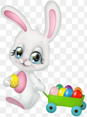 Easter Bunny No Background Cute - Easter Bunny Hare Rabbit Clip Art PNG