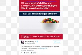 United States - United States Skittles Donald Trump Presidential Campaign, 2016 Republican Party Candy PNG