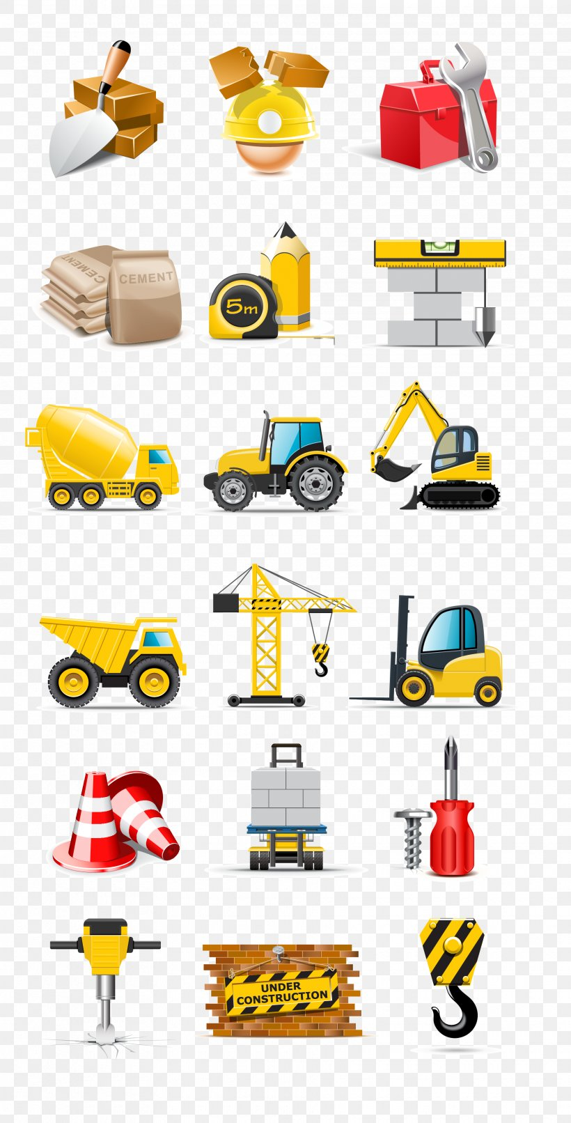 Heavy Machinery Architectural Engineering Truck Vehicle Clip Art Png 1860x3658px Heavy Machinery Architectural Engineering Area Brand