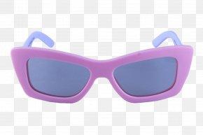 Purple Glasses - Goggles Glasses PNG