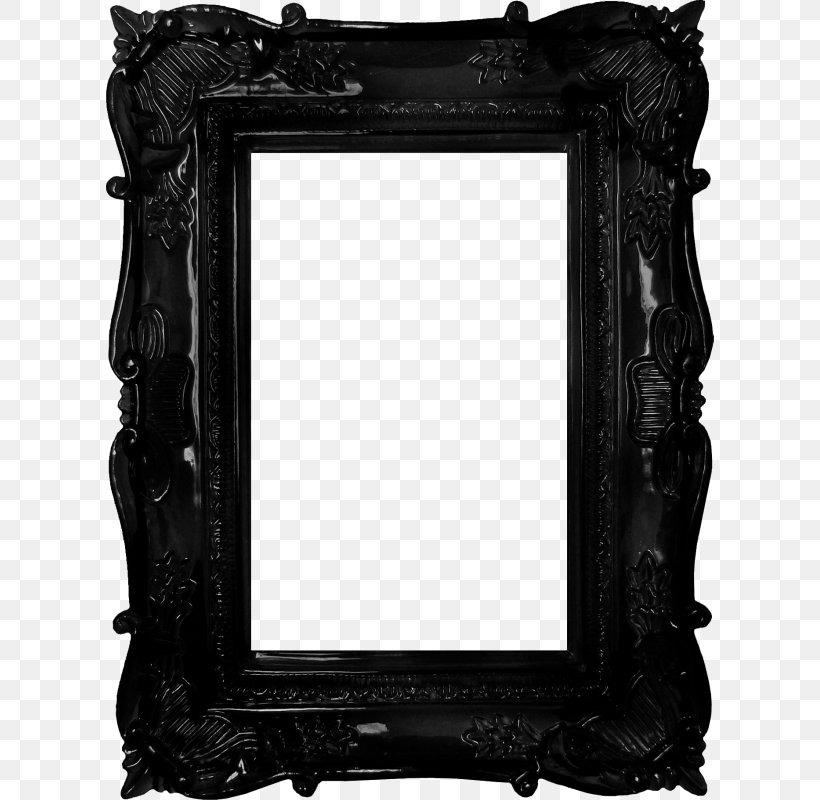 Picture Frame Mirror Antique, PNG, 608x800px, Picture Frame, Antique, Art, Black, Black And White Download Free