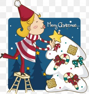 Christmas Icon Vector Material - Cartoon Christmas Illustration PNG