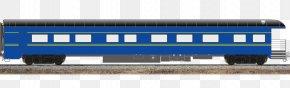 Passenger Car - Railroad Car Passenger Car Rail Transport Goods Wagon Public Transport PNG