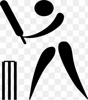 Cricket - Summer Olympic Games Cricket Pictogram Clip Art PNG