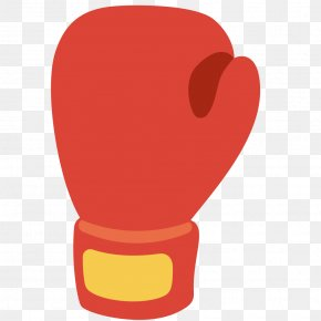 Boxing Gloves Vector Clipart - Boxing Glove Emoji Sports PNG