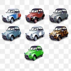 Cartoon Car - City Car Automotive Design Icon PNG