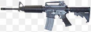 Assault Riffle - Airsoft Guns Firearm M4 Carbine Weapon PNG