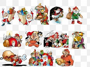 Vector Santa Claus - Ded Moroz Santa Claus Christmas Illustration PNG