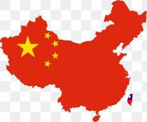 Great Wall Of China - Shigatse Map Flag Of China PNG