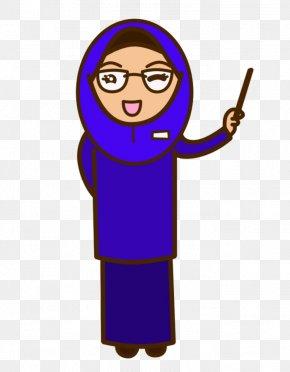 Teacher Cartoon Images - Muslim Student Teacher Islam Clip Art PNG