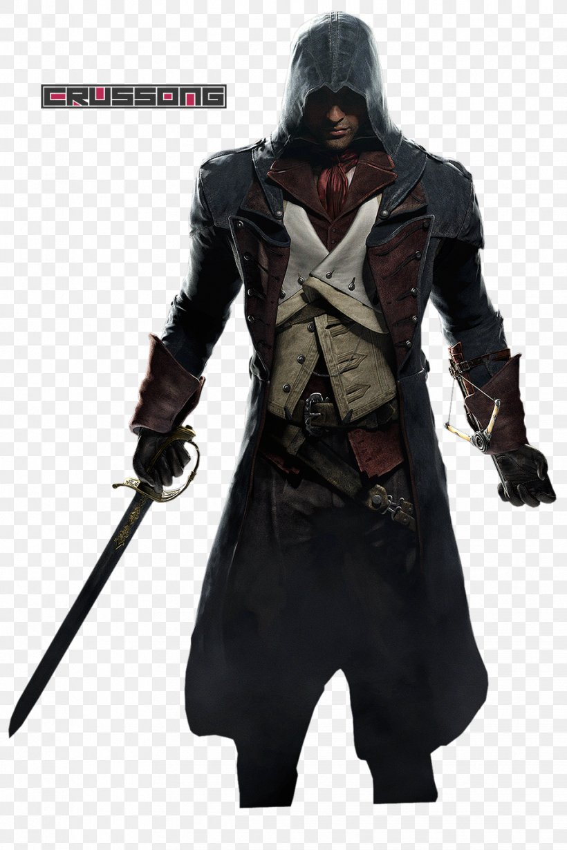 Assassin's Creed Unity Assassin's Creed Syndicate Assassin's Creed Rogue Assassin's Creed III PlayStation 4, PNG, 966x1450px, Playstation 4, Action Figure, Arno Dorian, Assassins, Cooperative Gameplay Download Free