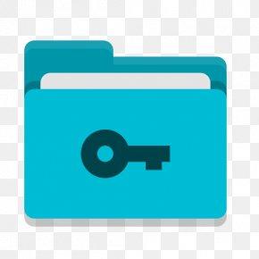 Symbol Aqua - Directory Icon PNG