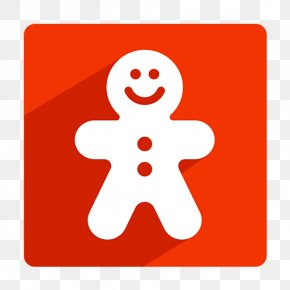 Christmas Snowman Icon - Gingerbread Man Christmas ICO Icon PNG
