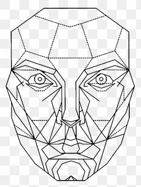 Face - Golden Ratio Proportion Face Mask PNG