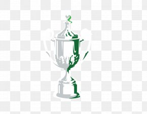 Hand-painted Trophy Vector Transparent - Trophy PNG