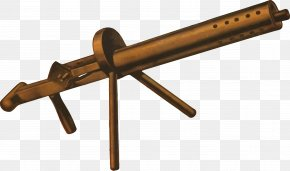 Machine Gun - Machine Gun Firearm Weapon Clip Art PNG