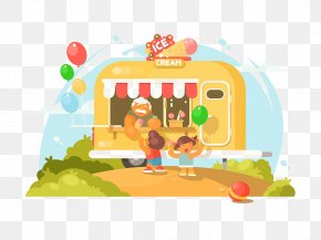 Appease Vector - Stock Photography Vector Graphics Illustration Royalty-free Ice Cream Van PNG